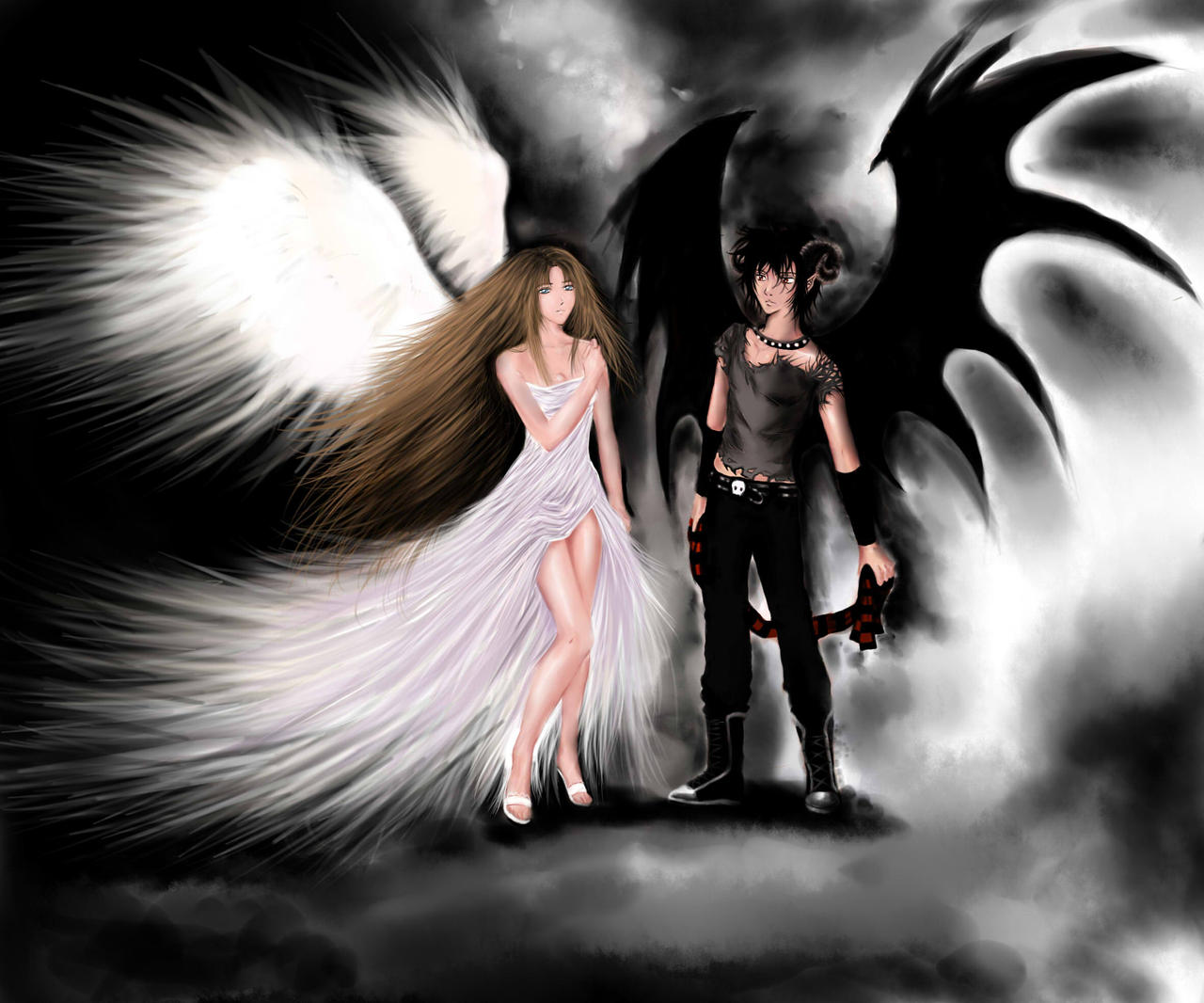 Angel and Demon.. by T...