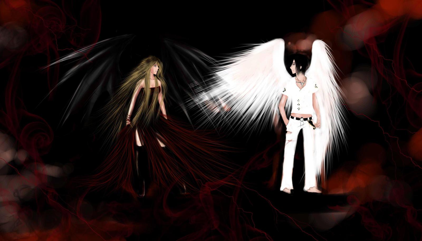 Кто ты? Дьявол или ангел? 100