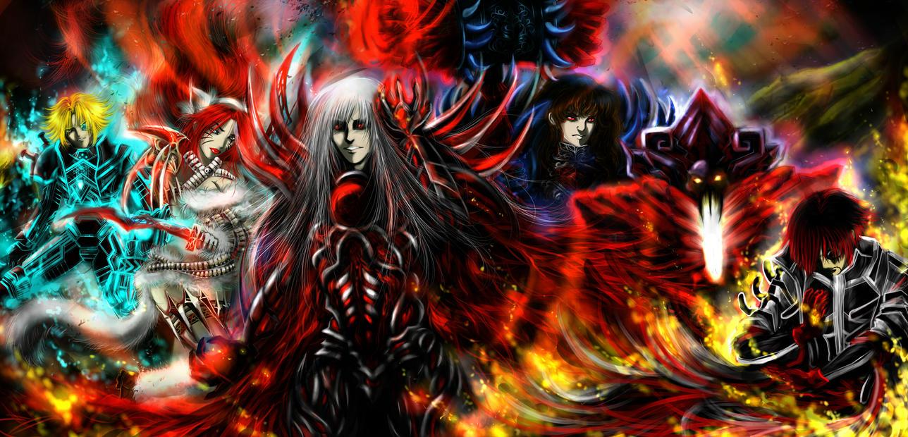 Battle by TheliaZein