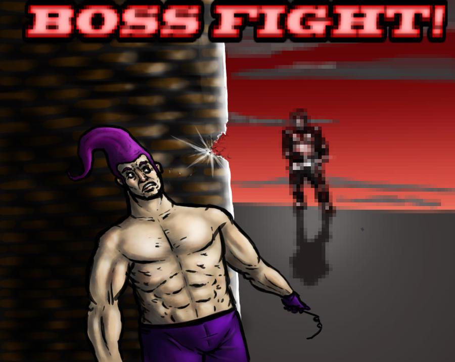 Pubg By Sodano On Deviantart: Gameworld: Boss Fight By CheesedoodleScare On DeviantArt