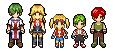 SPRITE: Pokemon Ranger Family by Inoune