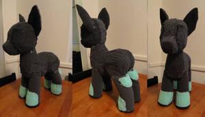 WIP Pony Plush by ScardyKat