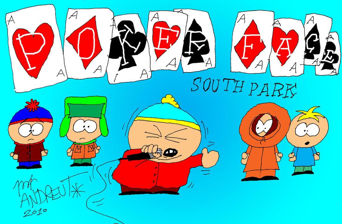eric cartman poker face