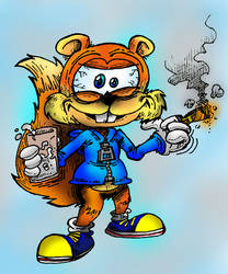 Conker The Squirrel by ANDREU-T
