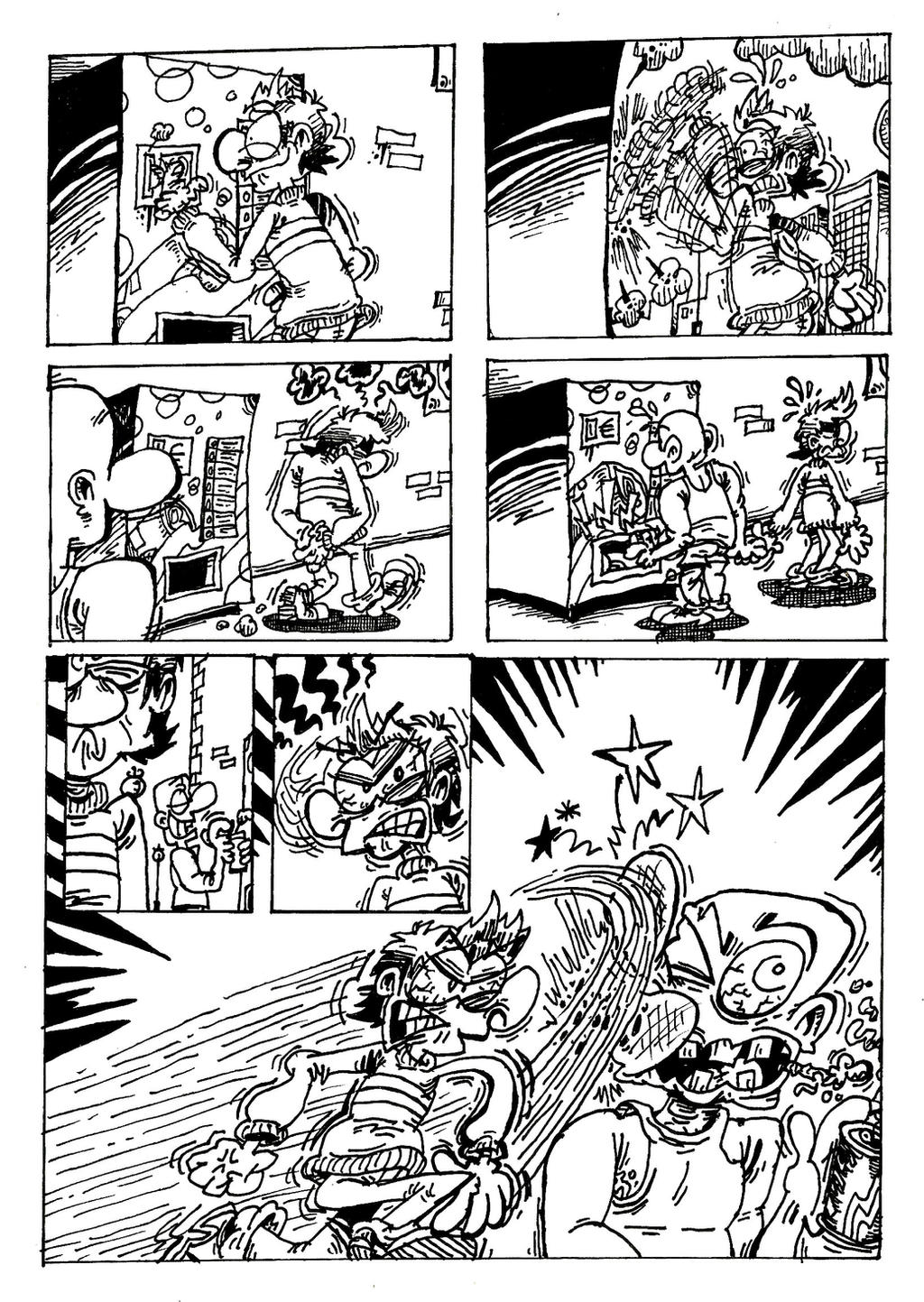 Comic Book Page 2 - American Edition. by ANDREU-T