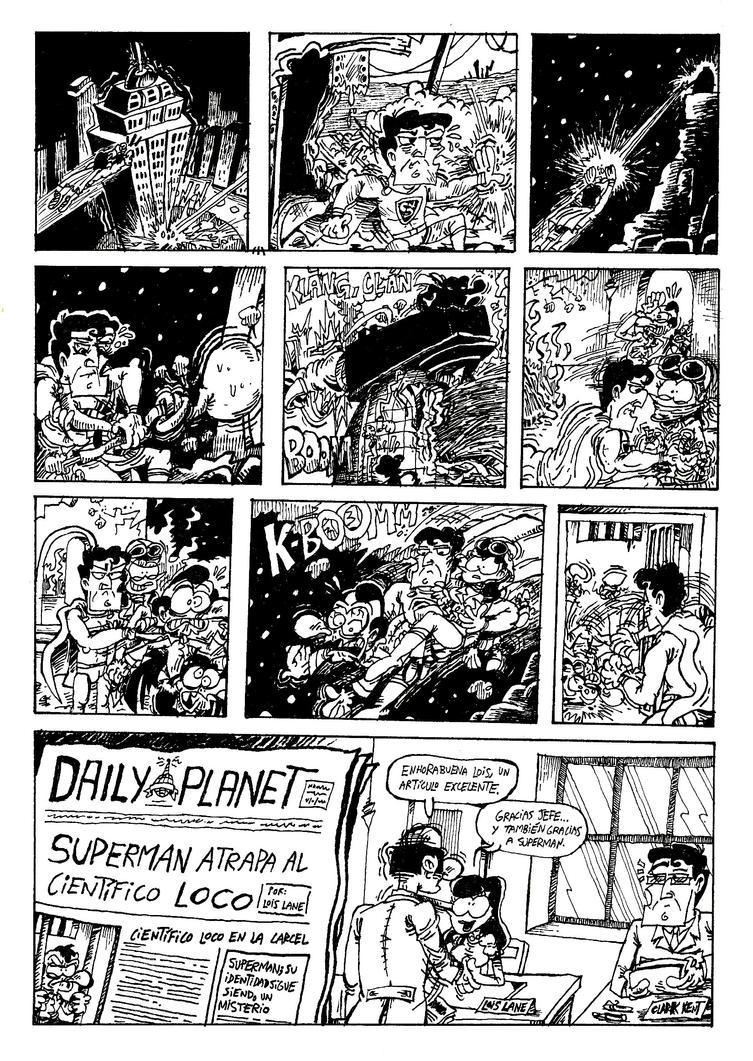 Superman - El Rayo Electrotansico 2 by ANDREU-T