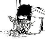 (Inktober 2017 08-31) Lucy reading Princess Pony