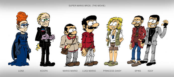 Super Mario Bros On Animation Fanbase Deviantart