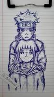 naruto and hinata by Beastopop