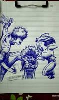 boku no hero academia by Beastopop
