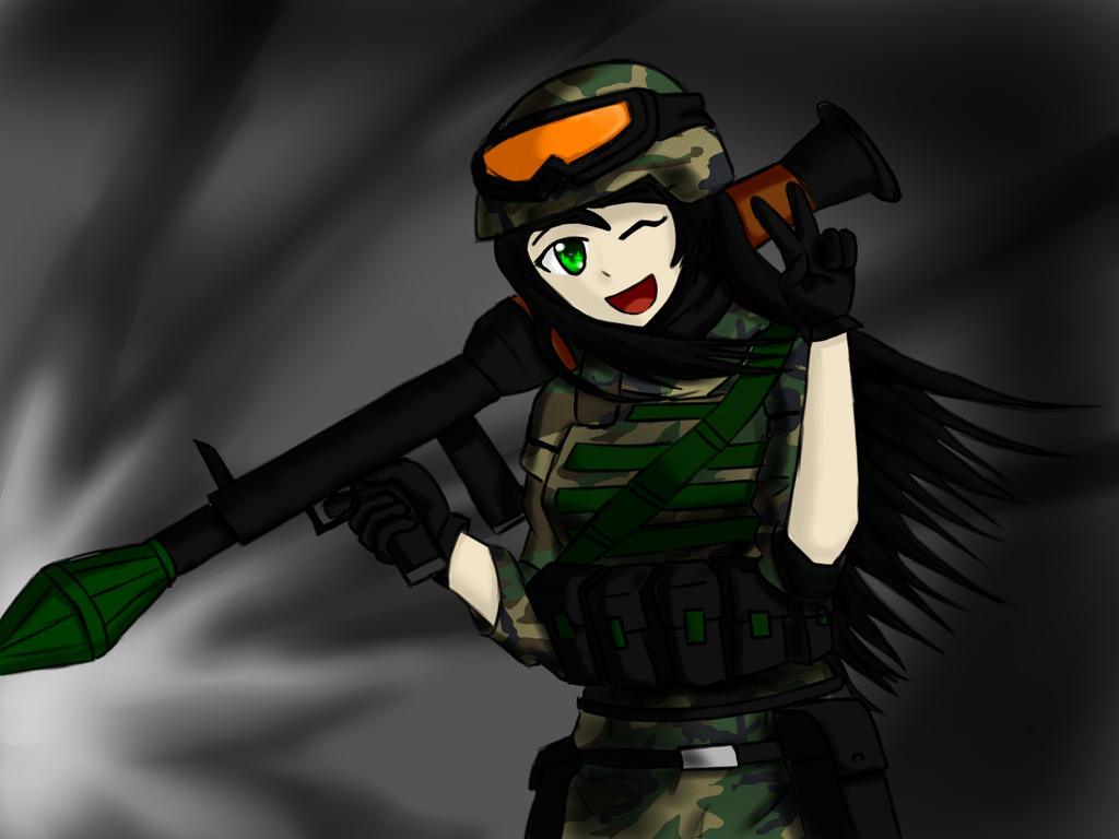 Anime American Soldier | www.imgkid.com - The Image Kid ...