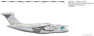 Argentina. Embraer KC-390