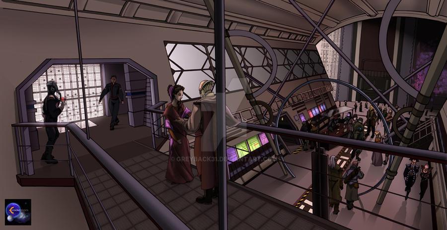 Interior Shot Babylon 5 by greyback31