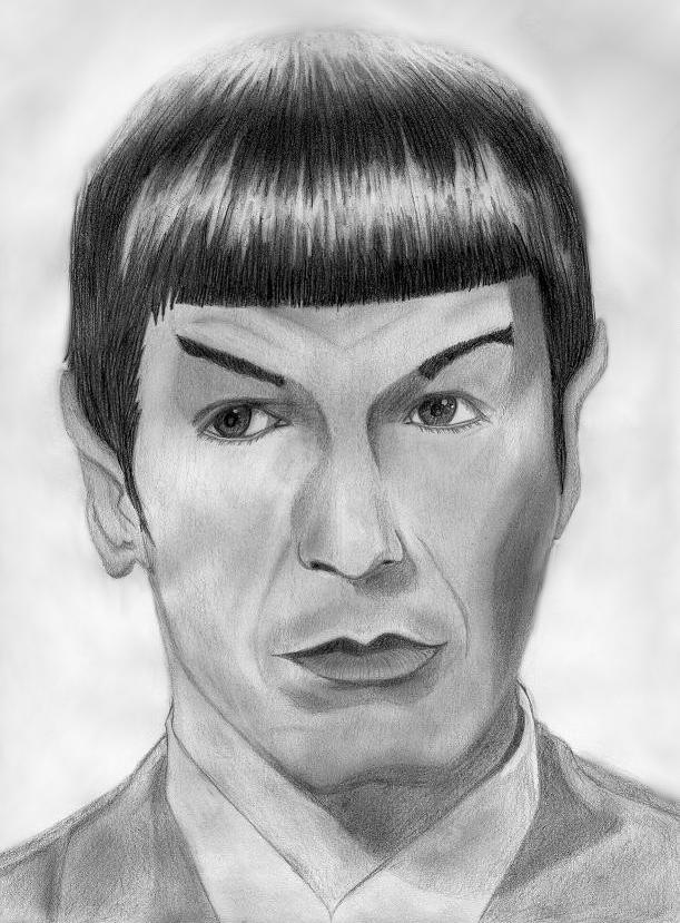 Spock by InnocentRedShirt