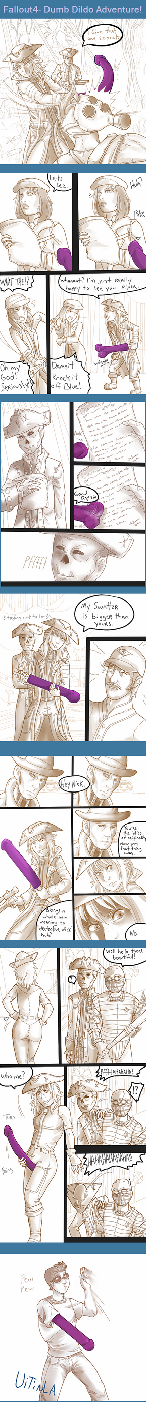 Dildo Sword Adventure- Fallout 4 by Uitinla