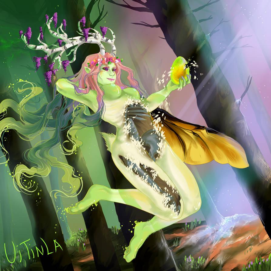Eostre- The spring season Goddess