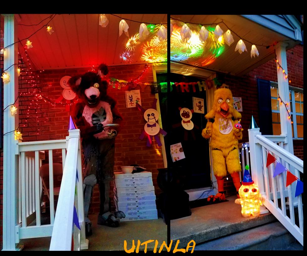 Fnaf Halloween 2016 by Uitinla on DeviantArt