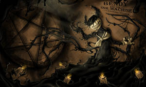 Bendy the demon of ink by Uitinla
