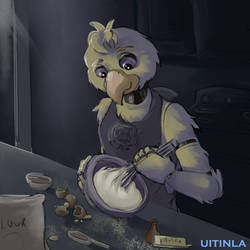 Chica Baking by Uitinla