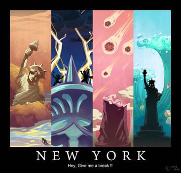 Statue of Liberty by Mushstone