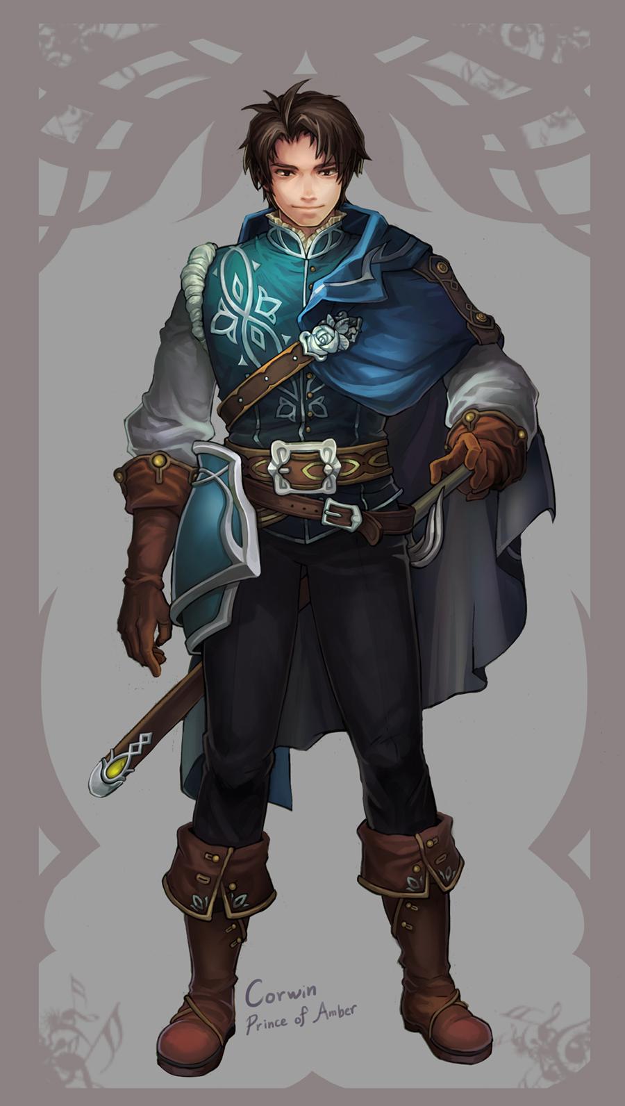 Prince Corwin by Mushstone