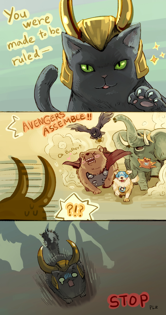 Animal Avengers by Mushstone
