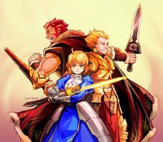 Fate zero : Three Kings by Mushstone