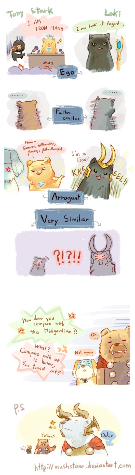 Animal Avengers 7 by Mushstone