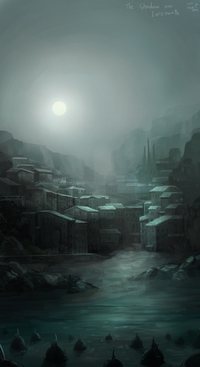 The shadow over Innsmouth by Mushstone