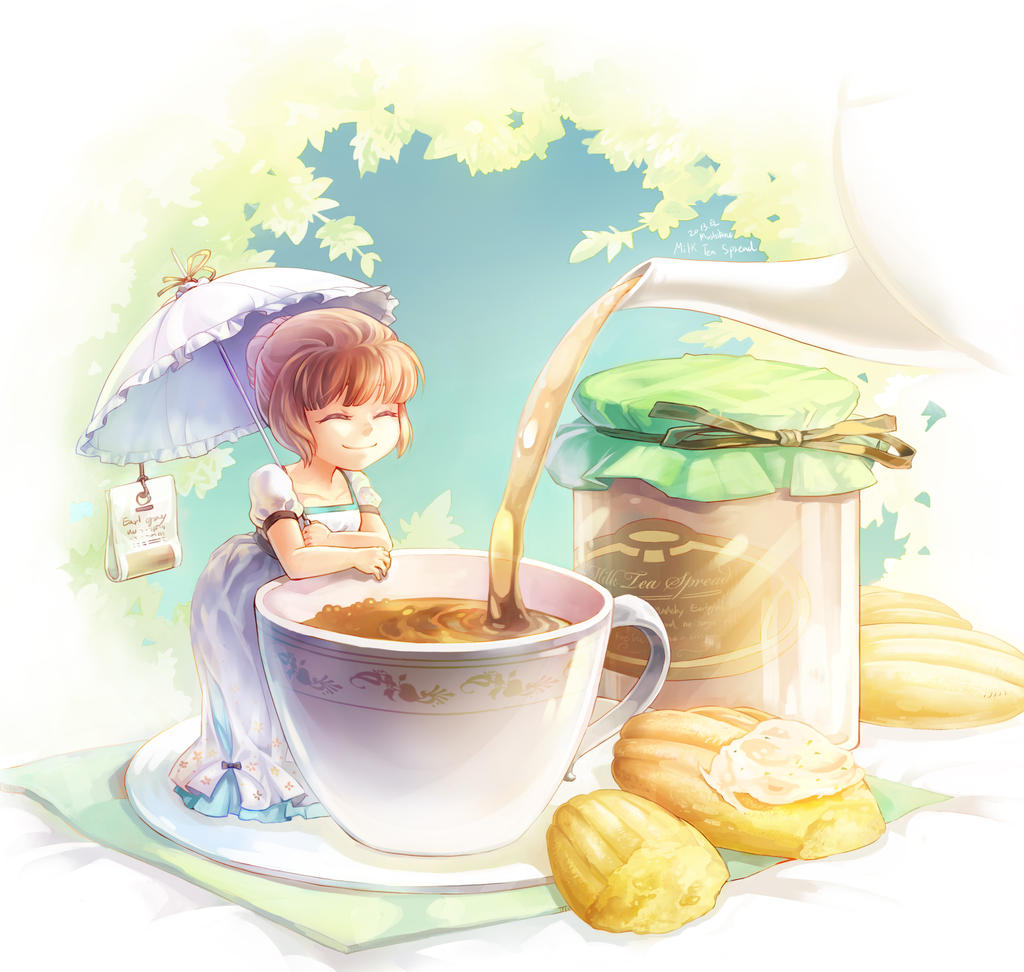 Milk tea jam by Mushstone