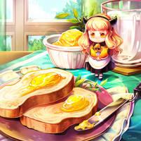 Butter Fairy by Mushstone