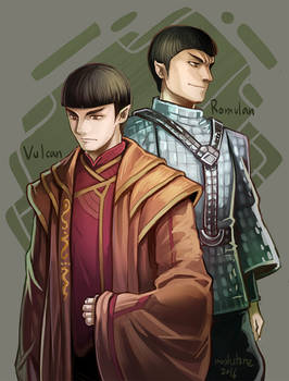 Star Trek : Vulcan and Romulan