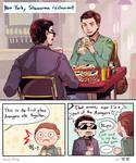 Spider Man: Homecoming / Shawarma