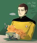 Star Trek TNG : Data and Spot