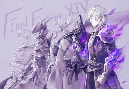 FINAL FANTASY XIV : Warriors of light