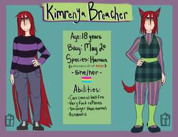 Kimrenya Breacher enters the chat