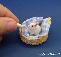 Handmade Bunny by AGZR-STUDIOS
