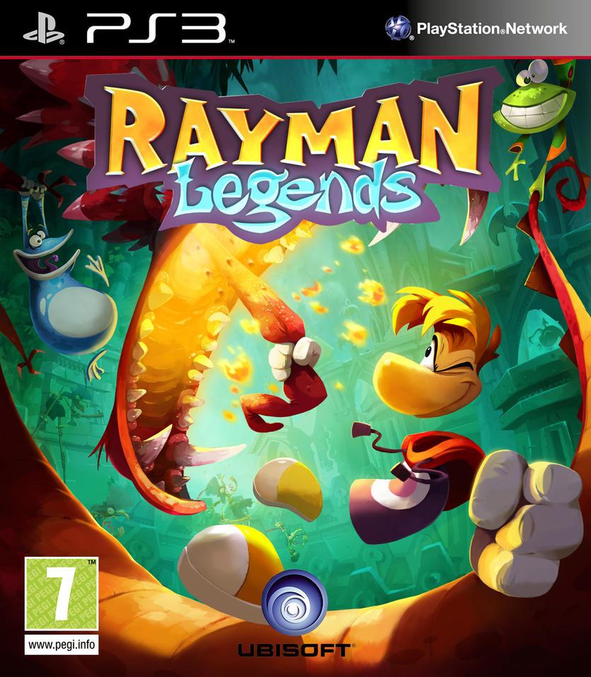 Kết quả hình ảnh cho Rayman Legends cover ps3
