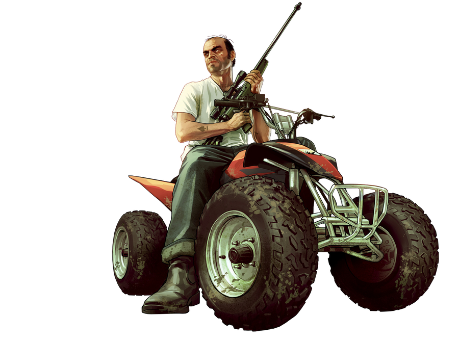 Trevor Phillips Render by SquizCat