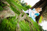 Alice in Wonderland - Sakizou Illustration by stregatt0