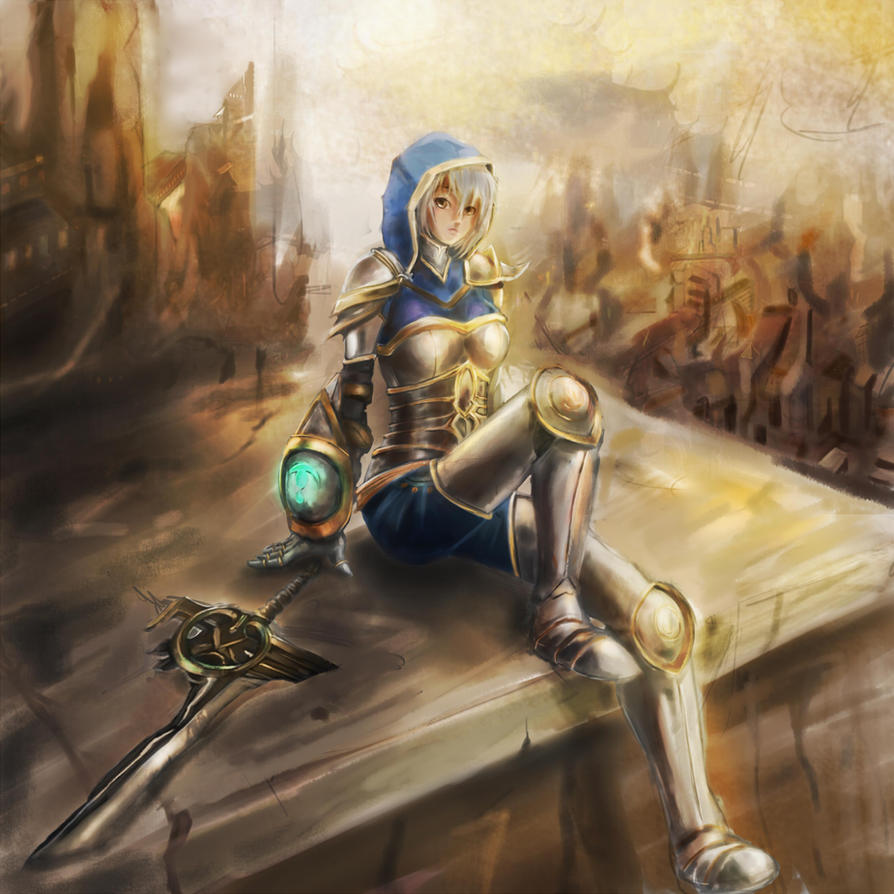 Riven, the Redeemed by 4rca