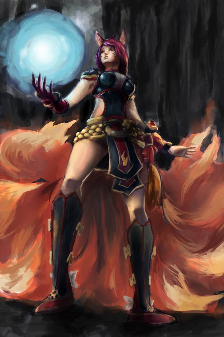 Foxfire Ahri by 4rca