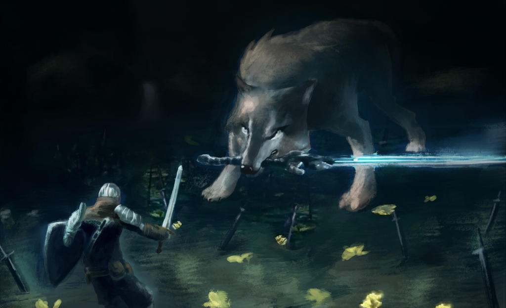 Great Wolf Sif By 4rca On DeviantArt