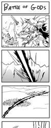 Kamigan #72 - A Battle of Gods by 4rca