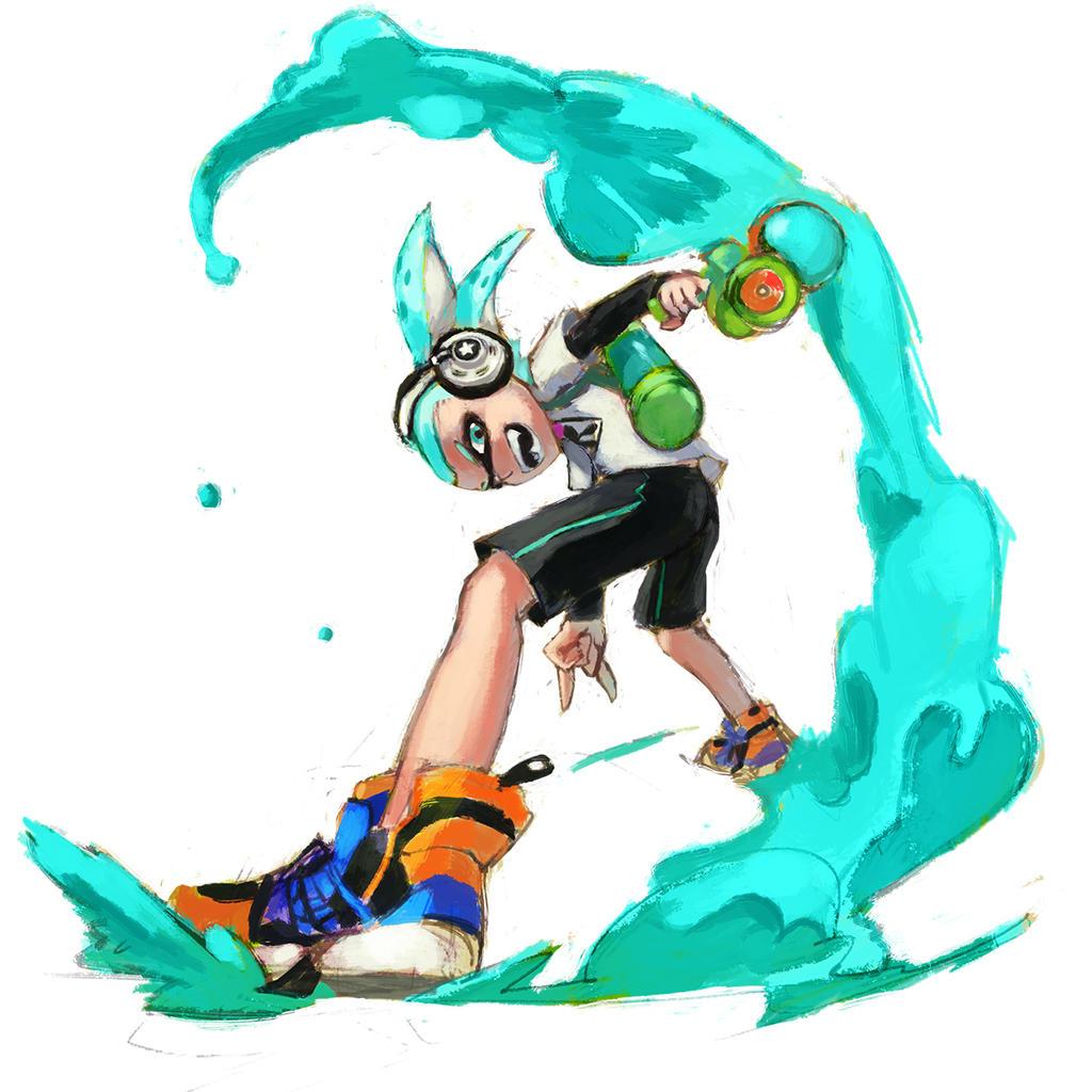 Rad Squid by 4rca