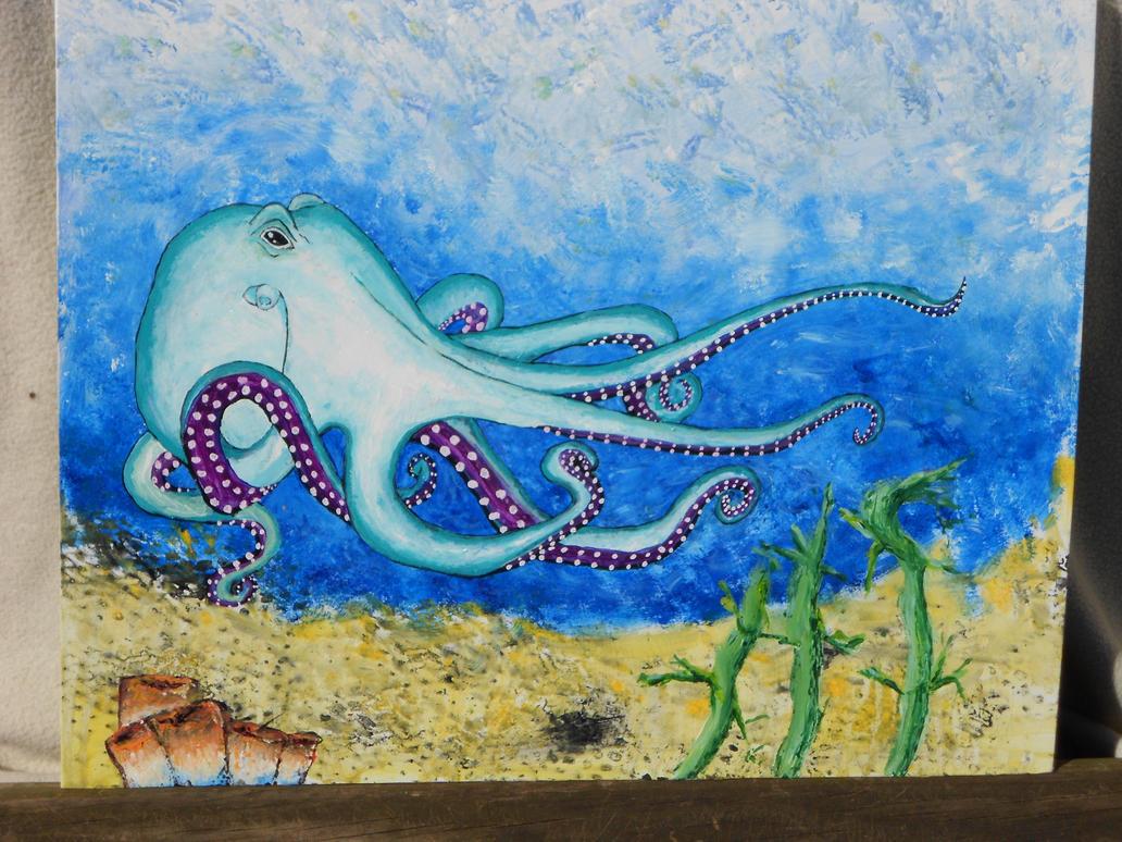 Octopus 39 S Garden By Abuttonpress2nothing On Deviantart