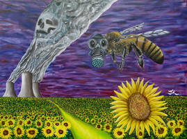 Bee Evolved by Abuttonpress2Nothing