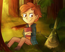 In da forest by Whitexkitty
