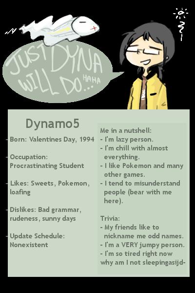 dynamo5's Profile Picture