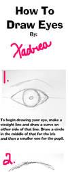Eye Tutorial by Xadrea